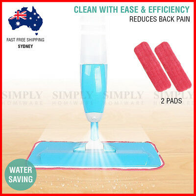 Spray Mop Microfibre Water Flat Mops Floor Kitchen Bath Microfiber Cleaner Metal