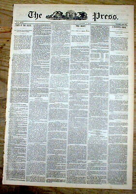 1872 headline display newspaper US MINT production incl all branches NUMISMATICS