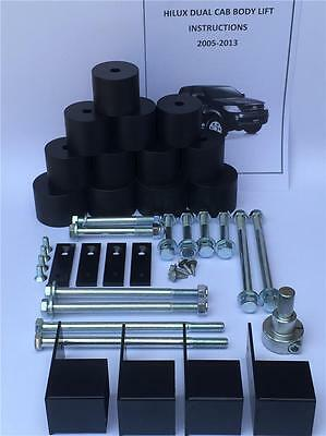 HILUX BODY LIFT KIT TOYOTA 2005-2013 DUAL CAB 2' INCH (50mm) offroad 4X4