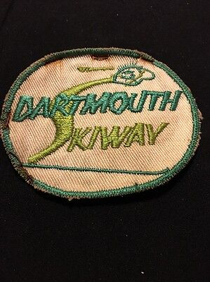 Dartmouth College Skiway Vintage Ski Patch Lyme NH Mountain Resort 1950s Old!