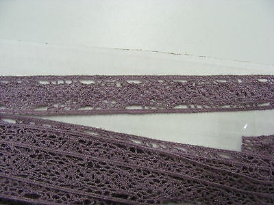 Cluney Cotton Lilac Galloon Lace - 10mts