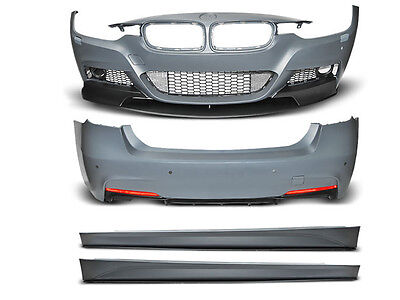 BMW 3 F30 M-Performance Body Kit Front + Rear Bumper and Side Skits