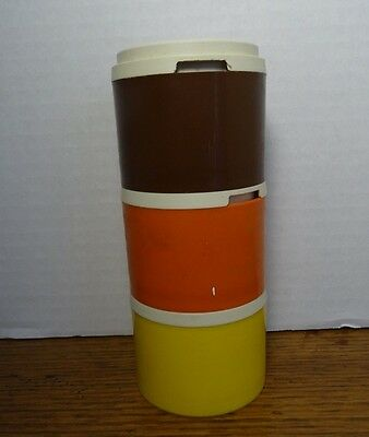 Retro Vintage TUPPERWARE Spice Shakers Stacking Containers Set of 3