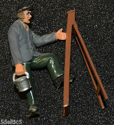 O Gauge Painter And Ladder  Nicely Painted