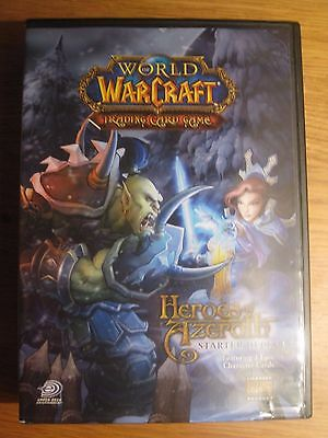 World Of Warcraft TCG Heroes Of Azeroth Starter Deck