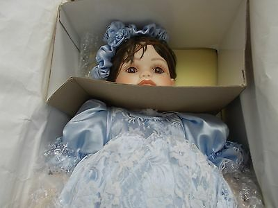 "MARIE OSMOND Fine Porcelain ""Toddler"" Collector Dolls  original box"