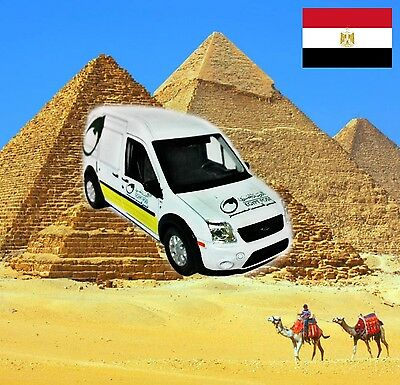 Egypt Post mail Ford Transit approximate scale 1/43 - World Post cars