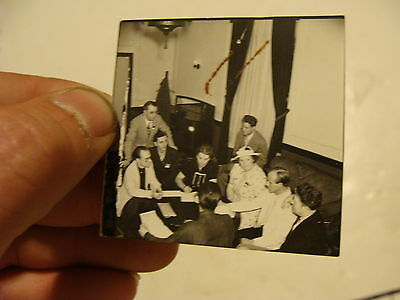 Vintage Puppet Marionette  Photo: group of puppeteers TINY PICTURE