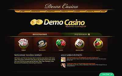 Online Gaming Website Business with Casino & Fun Games! Ready to go!