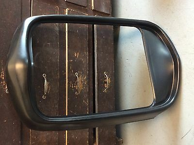 1932 Ford Steel Grill Shell Smooth Top No Crank Hole - New Black Primed 32 Rod
