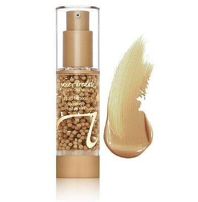 Jane Iredale Liquid Mineral A Foundation - Suntan 30ml Free UK P&P