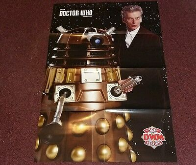 Doctor Who poster and stickers