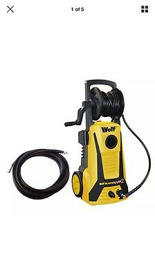 Wolf Blaster Max 2, 2200w 165BAR Pump Power Pressure Washer with Extension Hose