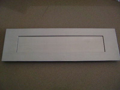 Letter Slot Letterbox Plate Stainless Steel New Mailbox Mail Box Door