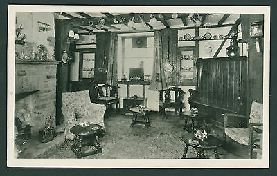 Interior view of The Crown Hotel, Hay on Wye. Breconshire