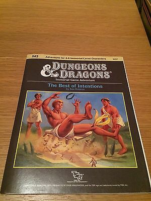 Dungeons And Dragons Module Tsr The Best Of Intentions