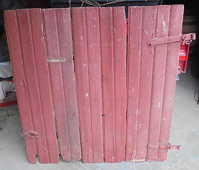 Antique Barn Wood Door Tongue and Groove