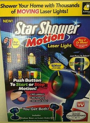 Star Shower Motion Laser party Light Projector As Seen On TV | StarShower