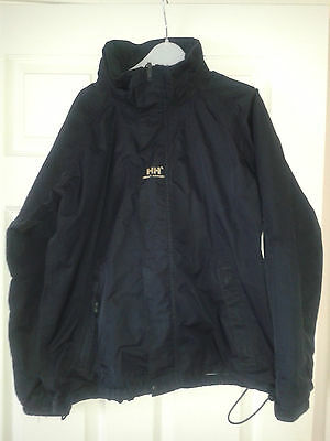 Girls Long Sleeved Coat - Helly Hansen - Navy Blue - Size 164 / Age 14