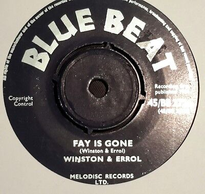 "Blue Beat 7""single - Faye Is Gone / Sauce&tea -"