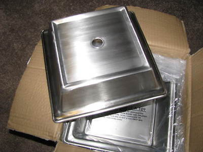 "Oneida J0143030A Plate Cover, 8-1/2"", case of 24"