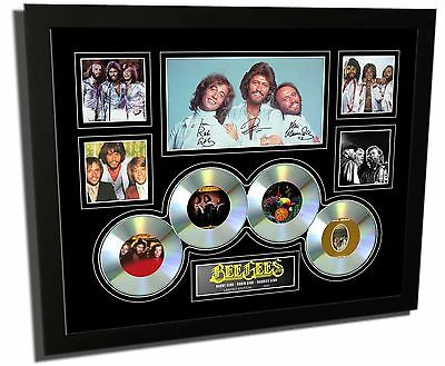 Bee Gees Signed Limited Edition Framed Memorabilia