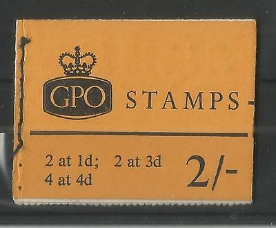 GB 1967 OCTOBER 2/- STITCHED BOOKLET SG,N30p LOT GB112