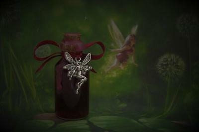 FAERY WINE Fairy Offering Ritual Oil Anointing Oil Potion~Wicca Witchcraft Pagan