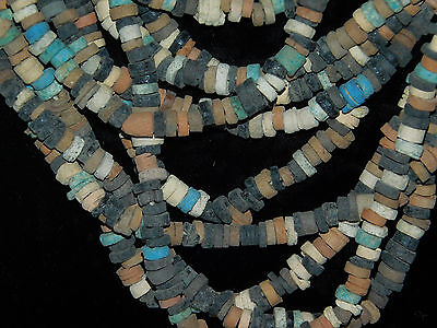 ANCIENT EGYPTIAN 10 strands MUMMY BEADS