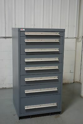 Used Lyon 8 Drawer Cabinet Industrial Tool Box Storage #910 Vidmar