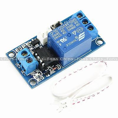 1PC 1 Channel 24V Latching Relay Module with Touch Bistable Switch MCU Control