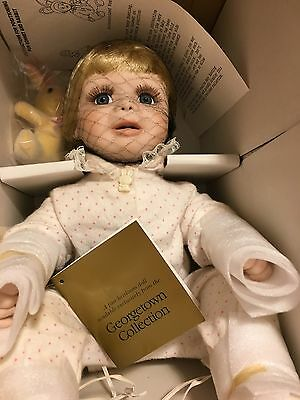 NIB Georgetown Collection 1990 Baby Bunting Doll