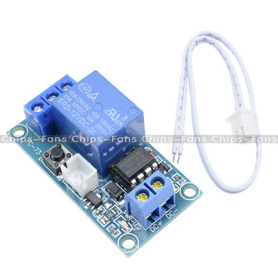 DC 12V 1 Channel Latching Relay Module with Touch Bistable Switch MCU Control UK