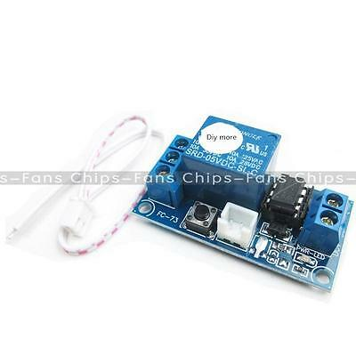 1pc 1 Channel 5V Latching Relay Module with Touch Bistable Switch MCU Control
