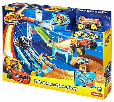 Nickelodeon Blaze and the Monster Machines  Flip & Race Speedway toddler