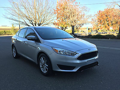 2015 Ford Focus SE 2015 Ford Focus SE Great Condition Clean Title Back-Up Cam *NO RESERVE*