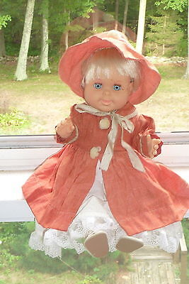 "Vintage 1989 18"" Betsy Wetsy Ideal Toy Corp Doll Redressed Drink 'n Wet"