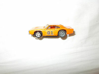 1981 Ideal HO The Dukes of Hazzard General Lee Dodge Rebel Charger Slot Car