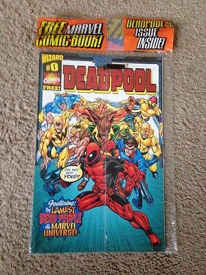 Deadpool #0 Wizard World Wow Rare  VF/NM Beauty Factory Sealed