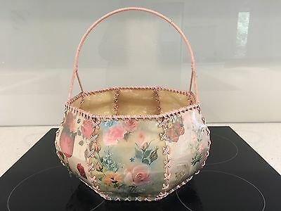 Vintage Seeing / Knitting Basket