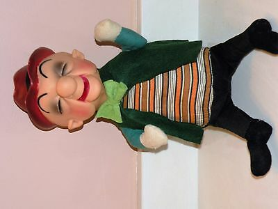 """Vintage 1962 Ideal Toy Co 15"""" Stuffed With Molded Head Mr. Magoo Doll"""