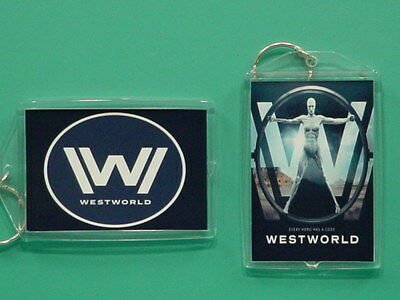 WESTWORLD - HBO - Evan Rachel Wood - with 2 Photos - Collectible GIFT Keychain