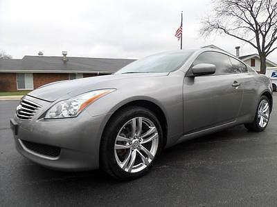 2009 Infiniti G37 X 2dr Coupe, AWD, NAV, 1-OWNER 2009 Infiniti G37X Coupe 3.7L V6 AWD, NAV, Automatic, Leather, Sunroof LOADED