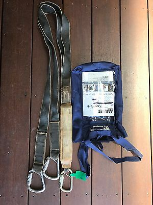 Fall Protection Miller By Honeywell Double Lanyard Carabiners