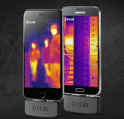 FLIR ONE-Thermal Imaging Camera for Android Infrared Thermacam Imager New