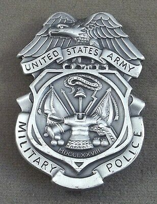 US Army Military Police Vintage Full Size Badge