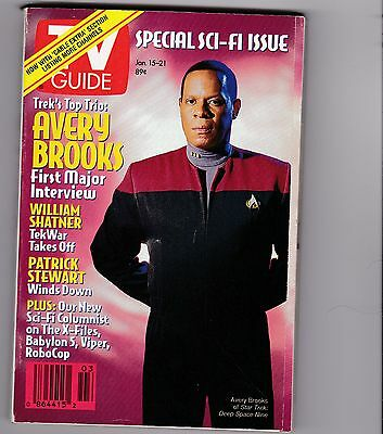 1994 Star Trek Ds9  Tv Guide Special Sci-Fi Issue  Never Been Used
