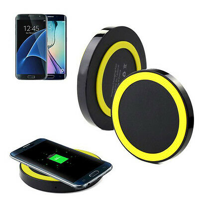 Qi Wireless Power Charger Charging Pad For Samsung Galaxy S7/S7 Edge Charger HOT