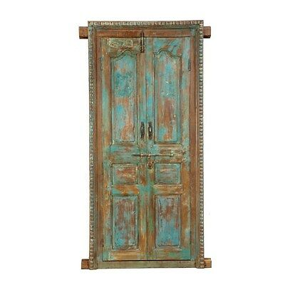 Silkroute MI1300-5 Wooden Door with Frame Mirror