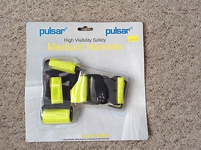 """One Pulsar high visibility safety harness medium 34 - 36"""" chest"""